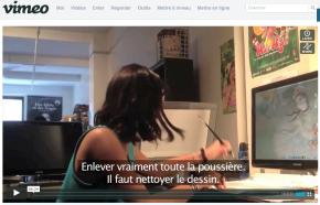 Création des AMANTS ELECTRIQUES – n°11 » Scanner et nettoyer«
