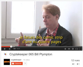 Cryptekeeper – interview de Bill Plympton