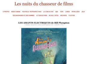 Les nuits du chasseur de films vous recommande «Les Amants électriques»